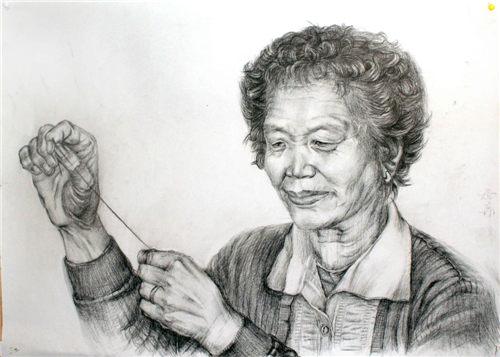 上海画室解说人物素描