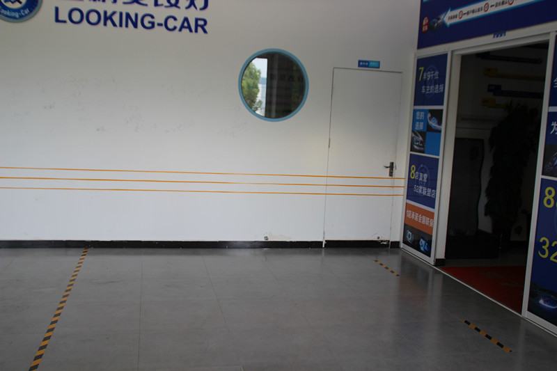 奔驰RX350合肥蓝精灵改装海拉5双光透镜欧司朗CBI氙气灯