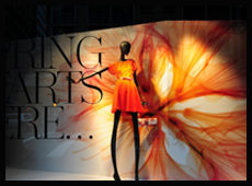 2013年纽约Lord & Taylor春季橱窗