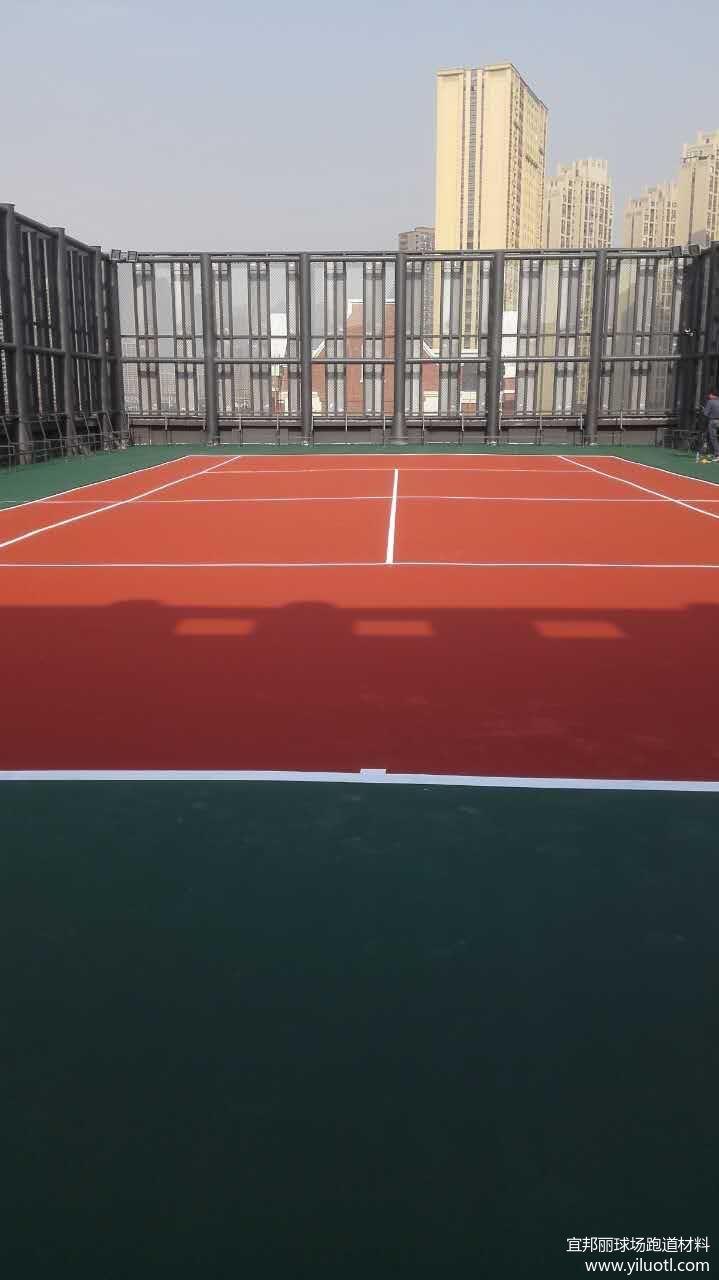 江苏无锡硬地丙烯酸网球场案例