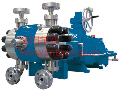 Diaphragm pump / dual-head Bran+Luebbe Bran+Luebbe