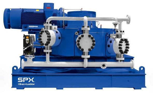 Diaphragm pump / process max. 70 000 l/h | NOVAPLEX Vector Bran+Luebbe