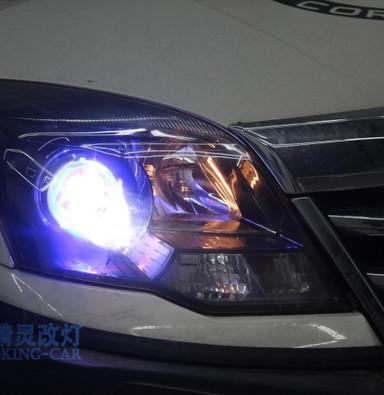 上海长城哈弗H5车灯改装 长城H5改装氙气灯 上海蓝精灵改灯