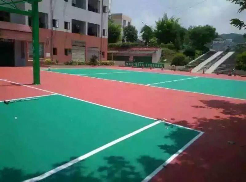 篮球场地坪材料分类