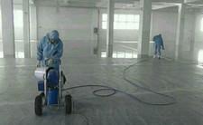 环氧地坪漆喷涂施工