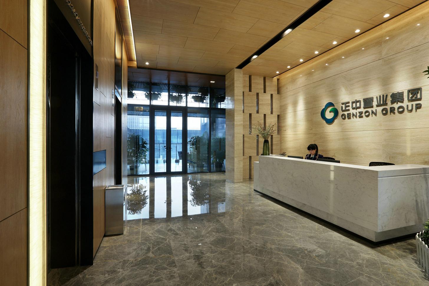 正中置业集团上海分部办公室装修实景