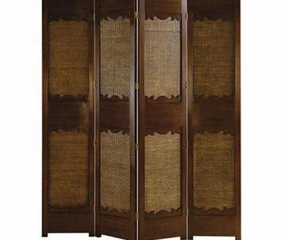 香奢一品定制家具 后现代隔断实木屏风 巴克尔屏风BAI1-01-004
