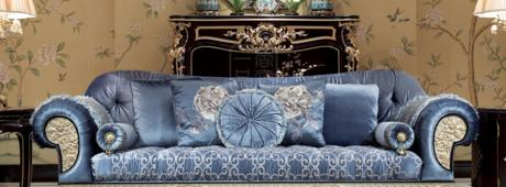 香奢一品高端定制家具 法式新古典三人沙发FSXGD-101