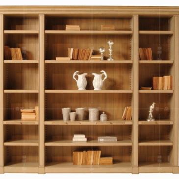 香奢一品高端定制家具美式书柜实木简约展示柜储物柜AD-136