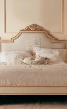 香奢一品高端定制家具床新古典后现代实木双人床1.51.8米TXZ21