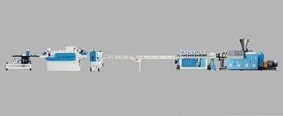 PVC WPC foamed plate production line