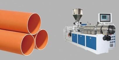 PVC/UPVC/CPVC/MPVC pipe extrusion line