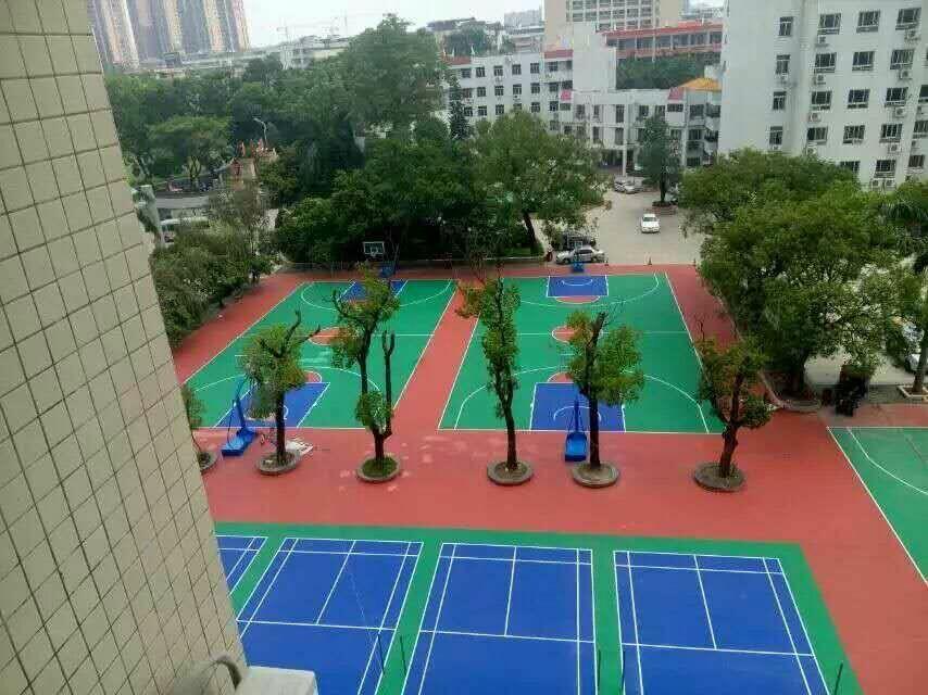 上海硅PU球场厂家