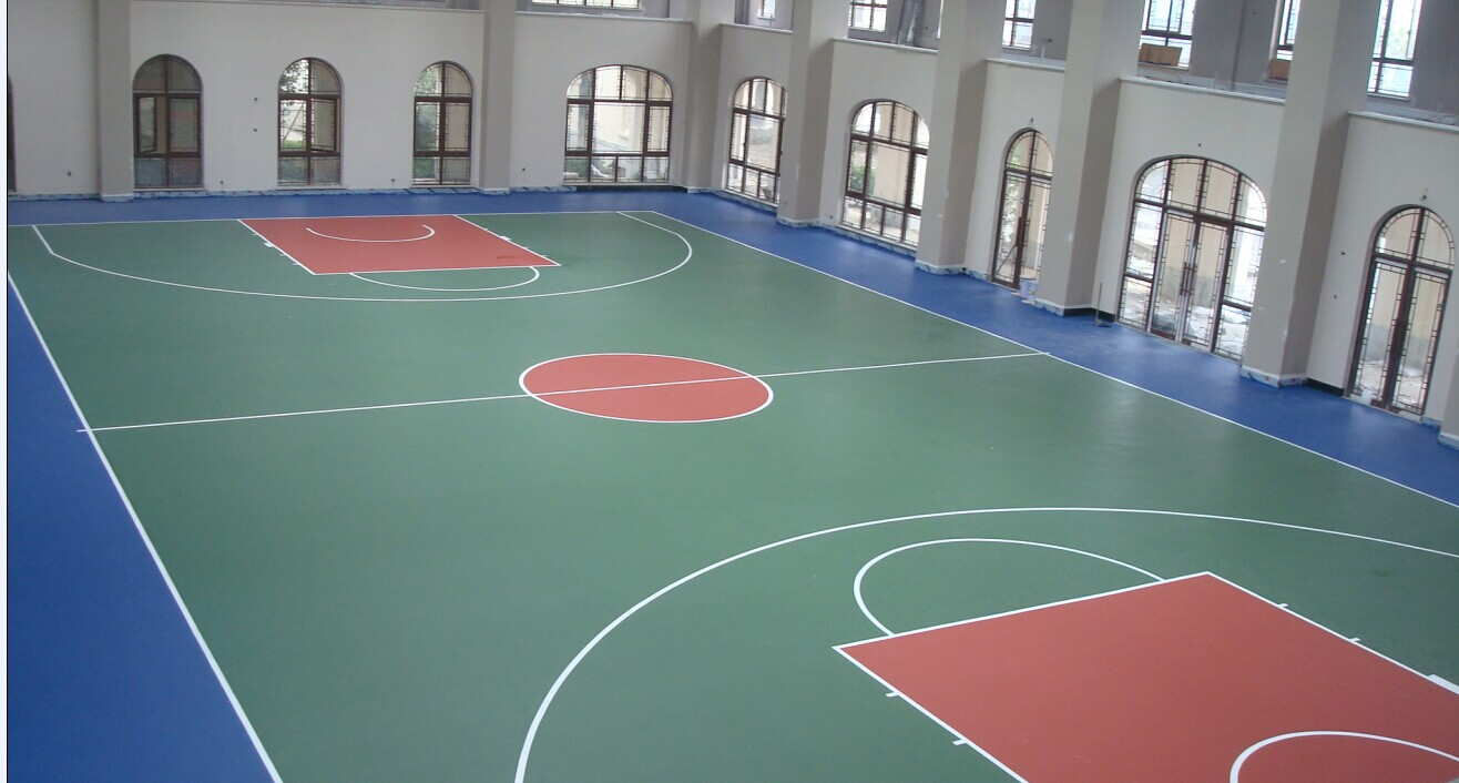 丙烯酸篮球场划线