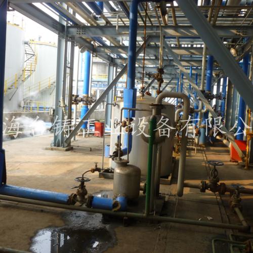 巴斯夫(上海)有限公司冷凝水回收设备现场
