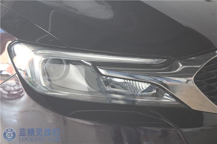 上海雪铁龙改灯