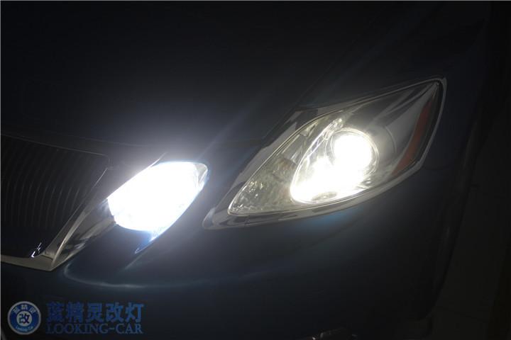 GS460升级后大灯