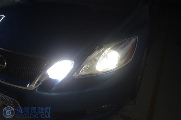 上海改装GS460氙气灯