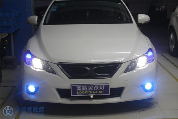 上海蓝精灵改装大灯