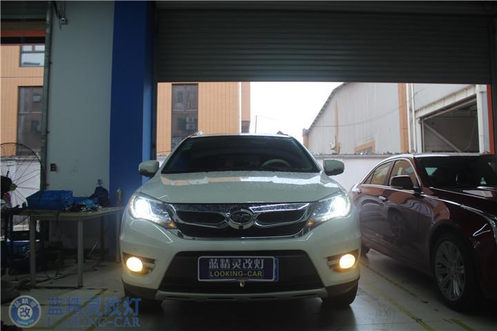 上海S7改氙气灯