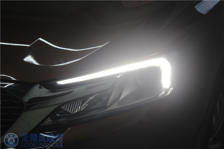 蓝精灵DS6大灯升级