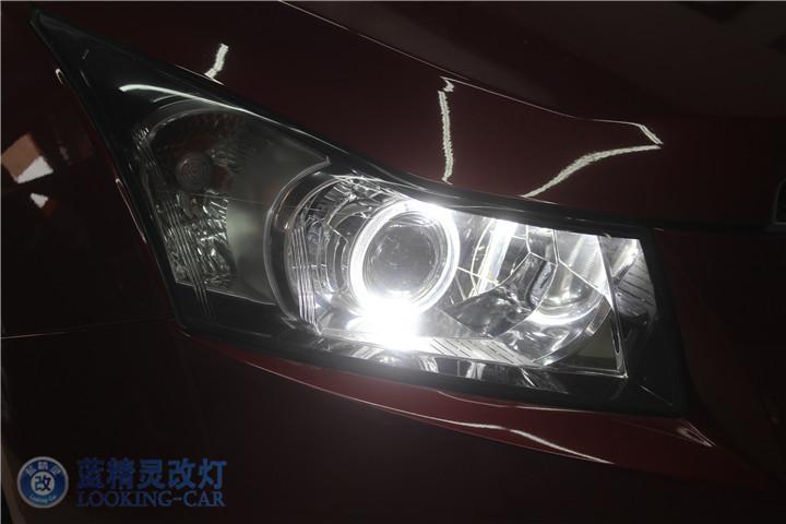 上海科鲁兹改装大灯
