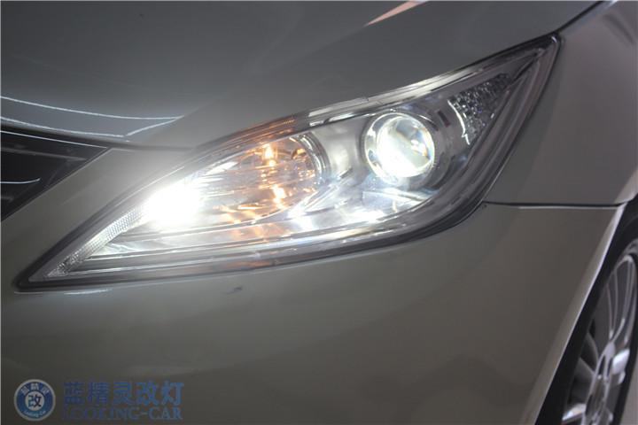 上海长安改装大灯
