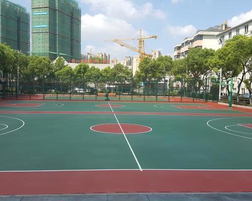 室外篮球场网球场系列