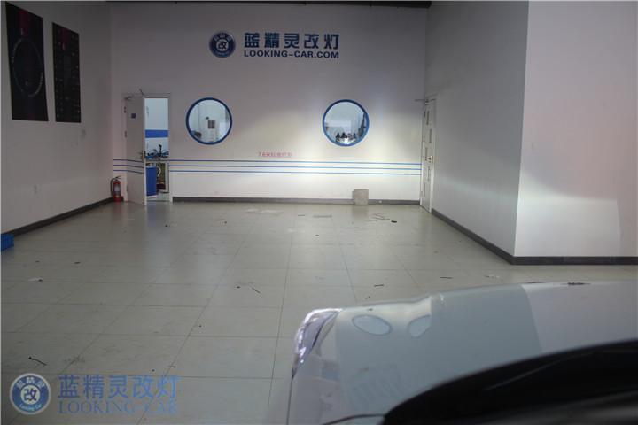 现代上海改装车灯