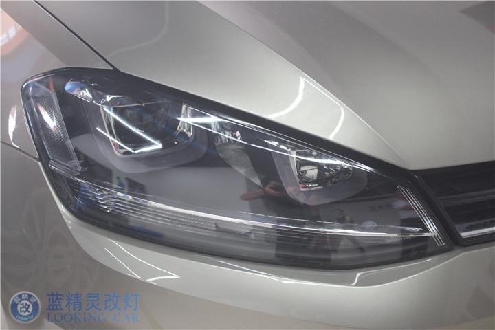 上海改装天使眼大灯