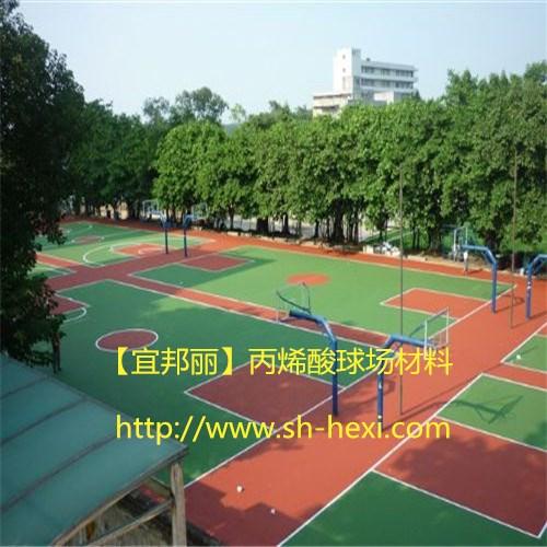 丙烯酸篮球场图片