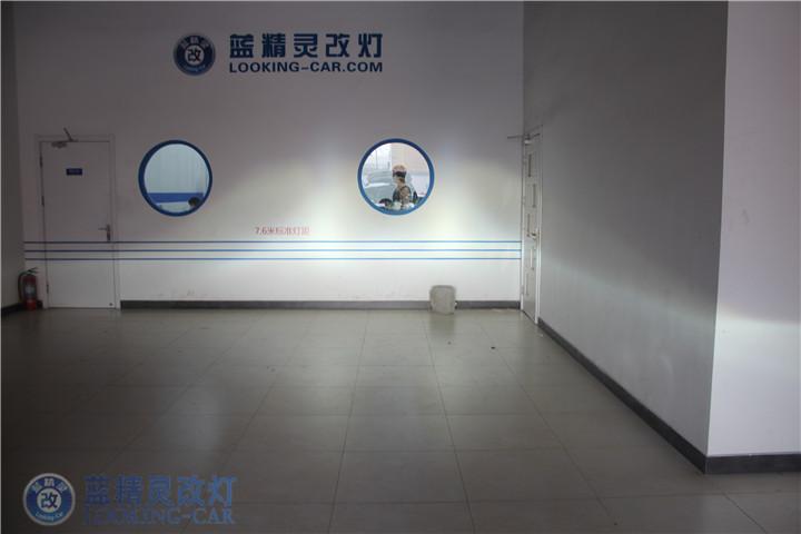 上海闵行标致改装大灯