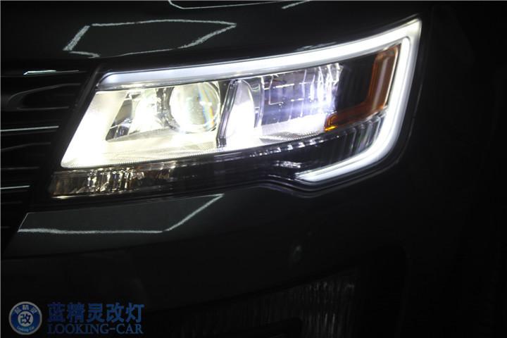 福特新探险者改装车灯