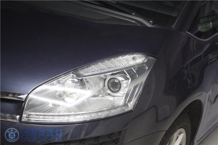 雪铁龙毕加索改装车灯
