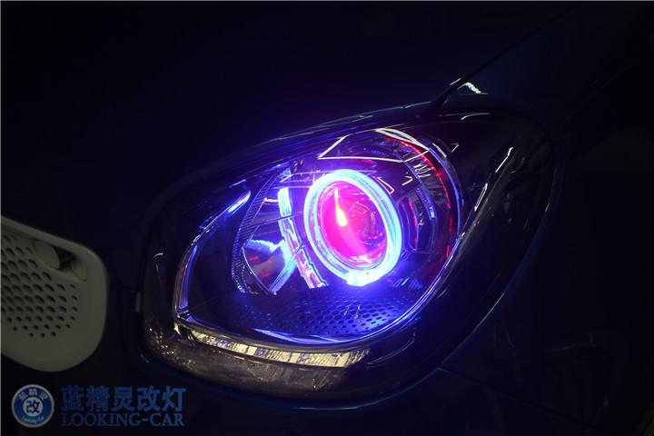 上海Smart改装氙气灯
