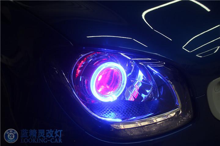 蓝精灵改装车灯