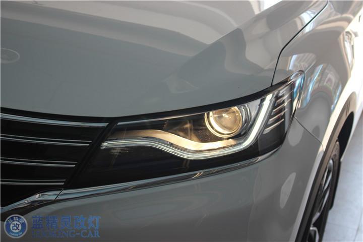 荣威RX5改装氙气灯 上海汽车灯光改装 蓝精灵改装大灯 南通改装车灯高清图片