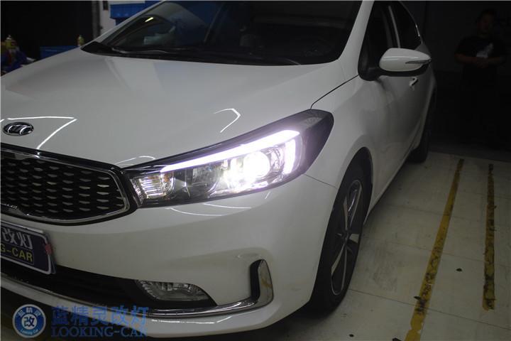 上海汽车灯光改装