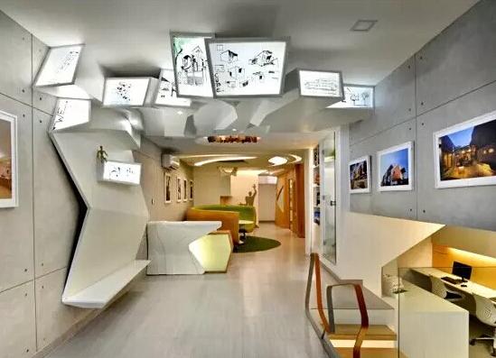 办公室天花板设计