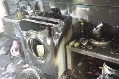 三星召回门升级:洗衣机爆炸威力过大 墙都炸坏了