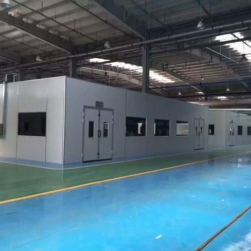 美国罗克韦尔上海无尘环保喷漆房工厂完工