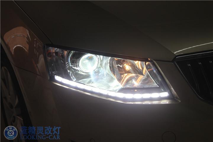 上海明锐改装大灯总成