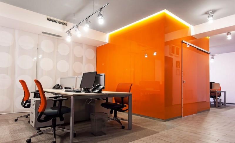 上海坤灵信息科技有限公司办公室装修案例