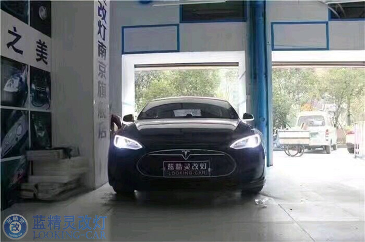 上海汽车灯光升级