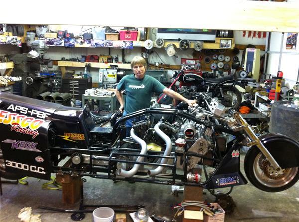 定制式3D打印摩托车打破时速250千米世界纪录
