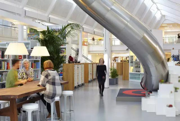 丹麦比隆创意办公室设计