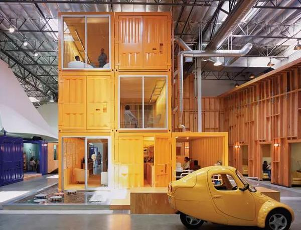 美国洛杉矶创意办公室设计