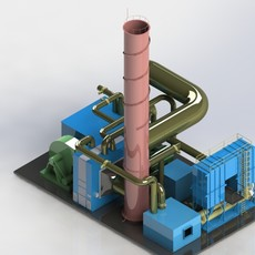 转轮浓缩+RTO/RCO组合技术