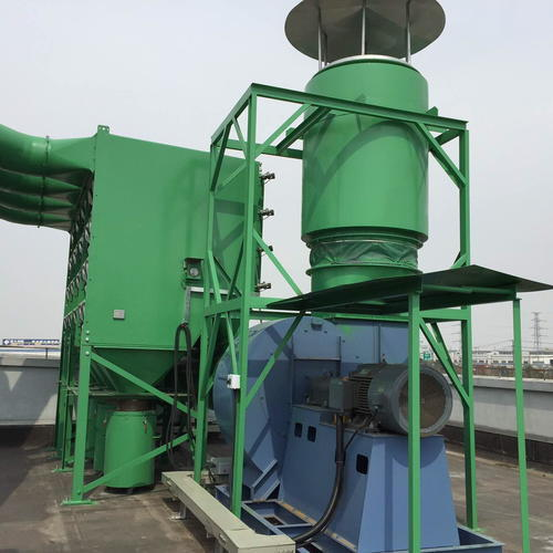 PVC, masterbatch industry dust removal introduction