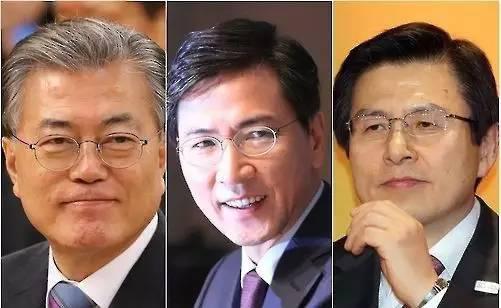 根据韩国民调机构Realmeter昨天发布的民调数据,目前支持率排名前五的候选人分别是: